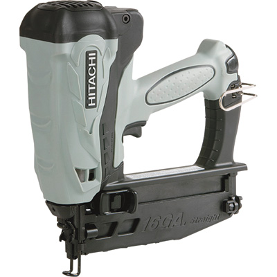 Hitachi Gas-Powered Straight Finish Nailer - 16-Gauge, 1in.-2 1/2in., Model# NT65GSP9