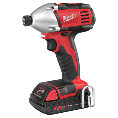 FREE SHIPPING - Milwaukee M18 Cordless Compact Impact Wrench - 1/4in. Hex, 18 Volt, Model# 2650-21