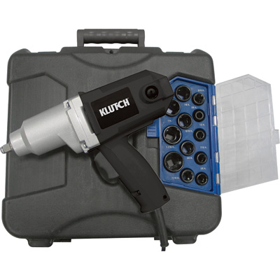 """FREE SHIPPING - Klutch Impact Wrench Kit - 7 Amp, 1/2in."""