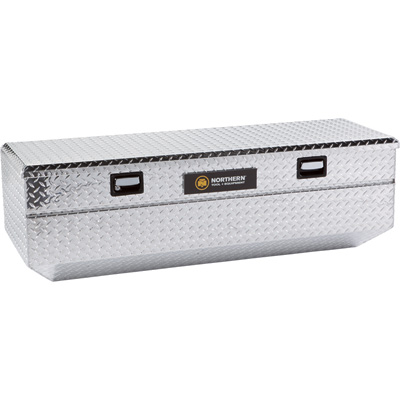 Northern Tool + Equipment Aluminum Storage Chest Truck Box - Diamond Plate, 60 3/4in.L x 20 1/2in.W x 18 1/2in.H