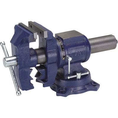 Wilton Multi Purpose Bench Vise 5in Jaw Width Rotating