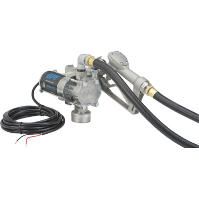 FREE SHIPPING — GPI EZ-8 12V Fuel Transfer Pump — 8 GPM, Manual Nozzle, Hose, Model# EZ-8 Pump