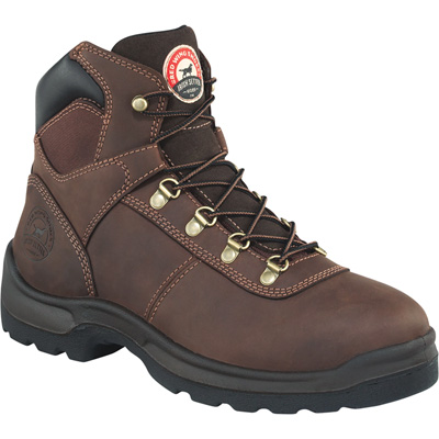 Irish Setter by Red Wing Men's 6in. Ely Waterproof Steel Toe Work Boots — Brown, Size 14