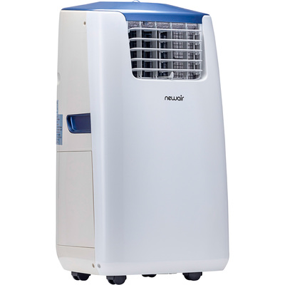 """NewAir Portable 4-in-1 Air Conditioner with Heater - 14,000 BTU Cooling, 14,000 BTU Heating, 115 Volts, Model# AC-14100H"""