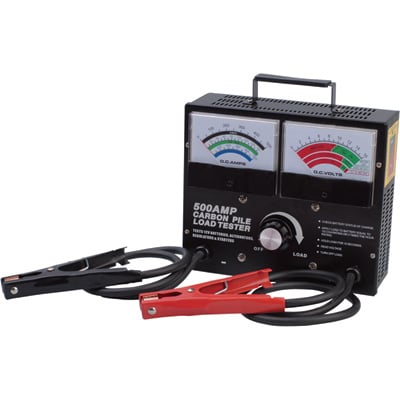 Ironton Battery/Carbon Pile Load Tester - 500 Amps