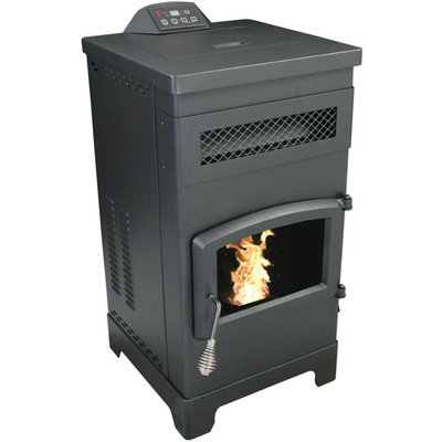 Vogelzang Pellet Stove with Remote Control — 48,000 BTU, Model# VG5770
