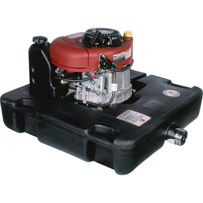 Darley Dolphin Self-Priming High-Volume Floating Water Pump — 23,400 GPH, 12.5 HP, 2 1/2in. Discharge/4in. Suction Ports, 344cc Briggs & Stratton Intek OHV Engine, Model# HE12.5SB