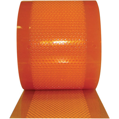 ALECO AirStream Perforated PVC Strips — 300Ft. Bulk Roll, 8in.W x 0.080in.Thick, Model# 175106