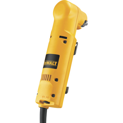 FREE SHIPPING — DEWALT Heavy-Duty VSR Corded Electric Right Angle Drill — 3/8in. Chuck, 3.7 Amp, 1,200 RPM, Model# DW160V