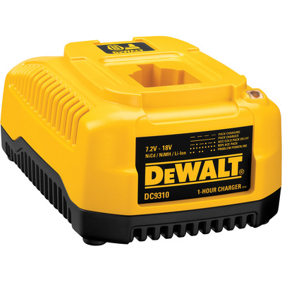 FREE SHIPPING — DEWALT One Hour Charge With Automatic Tune Up — 7.2 Volt to 18 Volt, Model# DC9310