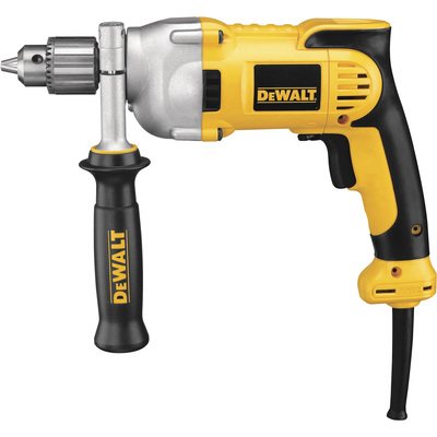 FREE SHIPPING — DEWALT VSR Pistol Grip Corded Electric Drill — 1/2in. Chuck, 10.0 Amp, 1,250 RPM, Model# DWD210G