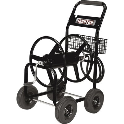 Ironton Garden Hose Reel Cart - Holds 300ft. x 5/8in. Hose
