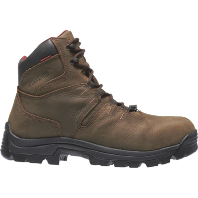 Wolverine Men's Bonaventure 6in. Waterproof Work Boots — Brown, Size 13, Model# W04417