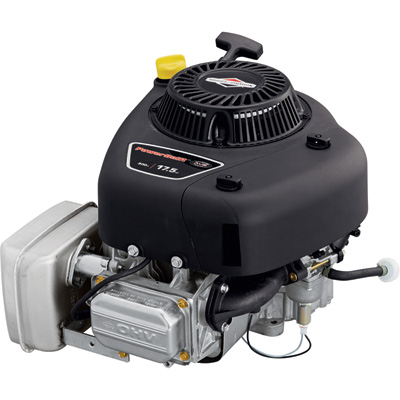 Briggs & Stratton Powerbuilt OHV Vertical Engine —  500cc, 1in. x 3 5/32in. Shaft, Electric Start with Recoil Backup, Model# 31R907-0006-G1