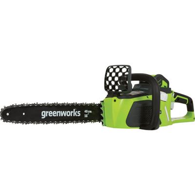 GreenWorks G-MAX Chainsaw — DigiPro 40V 4.0Ah Li-Ion, 16in. Bar, Model# 20312