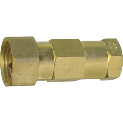 NorthStar Inline Water Filter — 1/2in. NPT-F x 3/4in. GH, Brass, Model# ND40004P