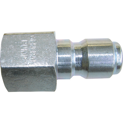 """NorthStar Pressure Washer Plated Steel Nipple - 4000 PSI, 3/8in. Female Fitting, Model# ND10008P"""