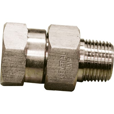 NorthStar Swivel Pressure Washer Coupler — 5000 PSI, 3/8in. Fitting, Stainless Steel, Model# ND10067P