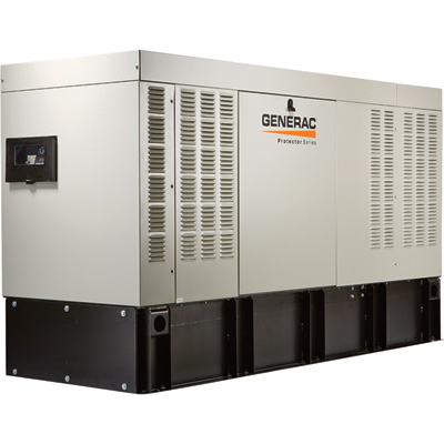 FREE SHIPPING — Generac Protector Series Diesel Home Standby Generator — 30 kW, 120/208 Volts, 3-Phase, Model# RD03024GDAE