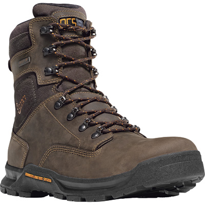 Danner Crafter 8in. Waterproof EH Work Boots — Brown, Size 8 1/2, Model# 124377D