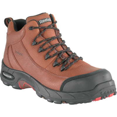 Reebok Men's TiaHawk Waterproof Composite Toe EH Boots — Brown, Model# RB4444