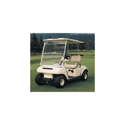 Classic Accessories Fairway Portable Golf Cart Windshield — White/Clear, Model# 72033