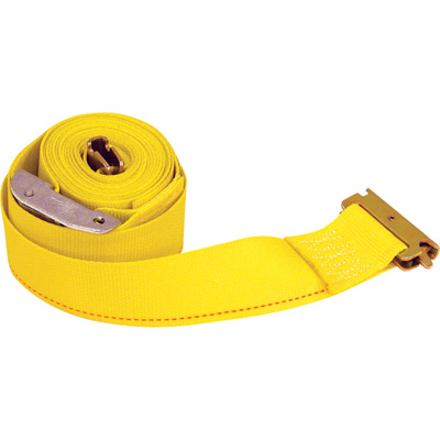 Buyers Ratchet Strap with E-Track Fitting - 2in. x 12ft.