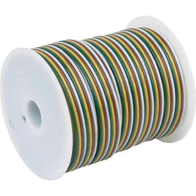 """Hopkins PVC Primary 4-Wire Spool - 16 Gauge, 100ft."""