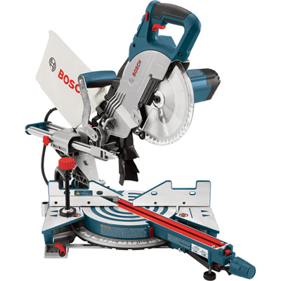 FREE SHIPPING — Bosch Single-Bevel Sliding Compound Miter Saw — 8.5in., 12 Amp, Model# CM8S