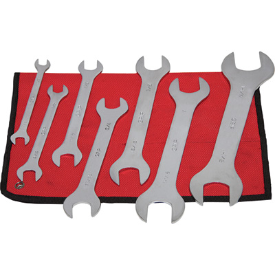 Grip Super-Thin SAE Wrench Set — 7-Pc., Model# 90120