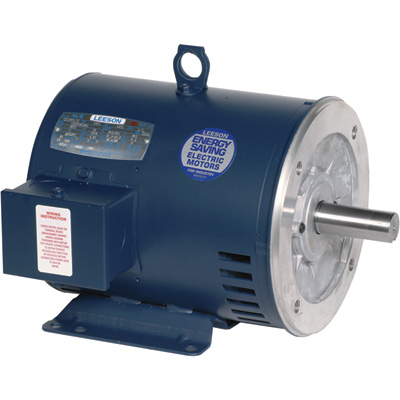 Leeson General Purpose Electric Motor 3/4 HP, 1,800 RPM, 208 230/460 Volts, 3 Phase, Model# 11047