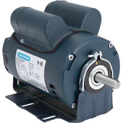 Leeson Instant Reversing Electric Motor 1/2 HP, 1,625 RPM, 115 Volts, Single Phase, Model# 100802