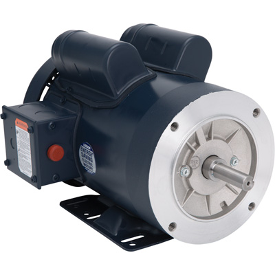 Leeson Pressure Washer Duty Electric Motor 1 1/2 HP, 1,800 RPM 115/208 230 Volts, Single Phase, Model# 116703