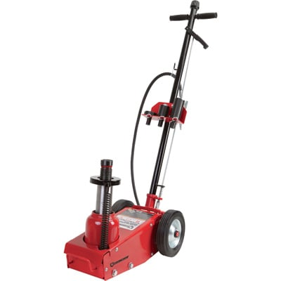 FREE SHIPPING — Strongway 35-Ton Quick Lift Air/Hydraulic Service Floor Jack