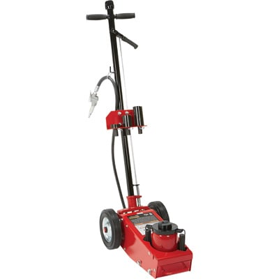 FREE SHIPPING — Strongway 22-Ton Quick Lift Air/Hydraulic Service Floor Jack