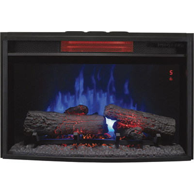 Chimney Free Spectrafire Plus Curved Infrared Electric