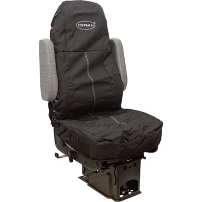 Seats Inc. COVERALLs Truck Seat Cover — Solid Black, Model# 9106