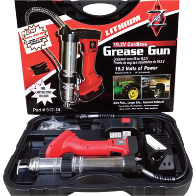 Cordless Grease Guns + Accessories