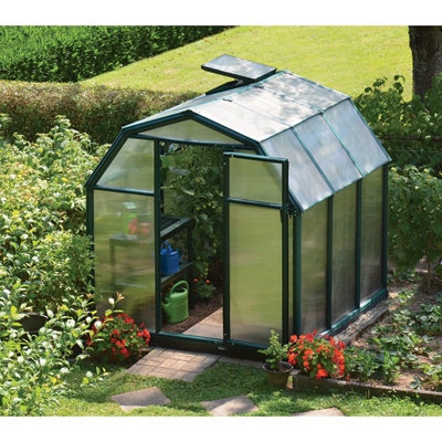 Rion EcoGrow 2 Twin Wall Greenhouse — 6ft. x 6ft., Model# HG7006