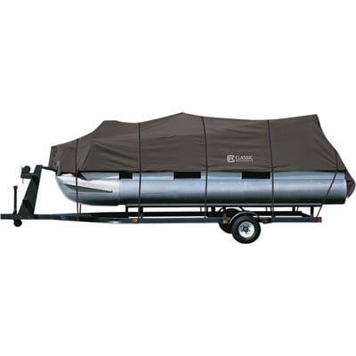 Classic Accessories StormPro Pontoon Cover — Fits Pontoons 17ft.–20ft.L x 102in.W, Model# 20-027-080801-00