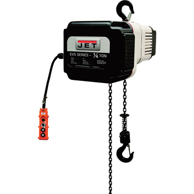 Jet VOLT Series Electric Chain Hoist — 1/4-Ton Capacity, 20ft. Lift, 1- or 3-Phase, Model# 182520