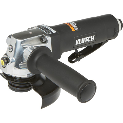 Klutch 4 1/2in. Air Angle Grinder — 12,000 RPM, 4 CFM