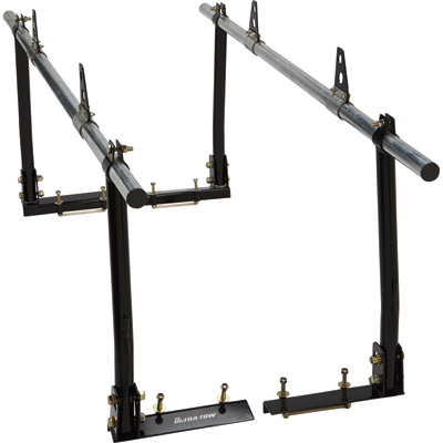 Ultra-Tow 4-Post Utility Truck Rack — 800-Lb. Capacity, Steel