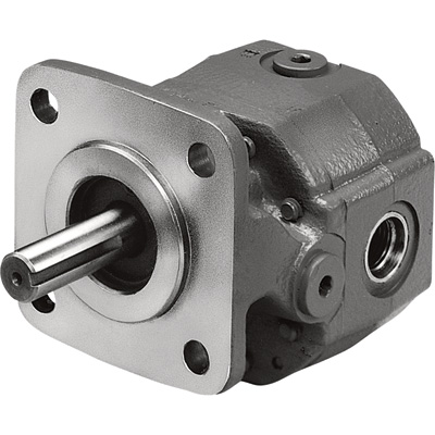 Concentric/Barnes Multi-Use Gear Pump with Viton Seals — 0.129 Cu. In., Model# G1208C3A300N00