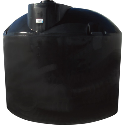 Snyder Industries Vertical Natural Above Ground Water Tank — 1500-Gallon Capacity, Black, Model# 10127008120100W94201