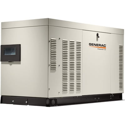 FREE SHIPPING — Generac QuietSource Series Liquid-Cooled Home Standby Generator — 22 kW (LP)/22 kW NG, Model# RG02224ANAX