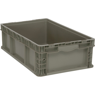 Quantum Straight Wall Container — 24in.L x 15in.W x 7in.H, Model# RSO2415-7