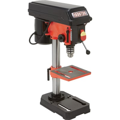 Ironton Benchtop Drill Press — 5-Speed, 8in., 1/3 HP