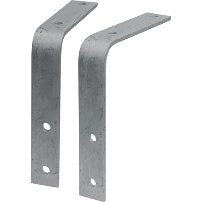 Tow Zone Fender Mounting Brackets —2-Pack, Fits 8in.–10in. Wide Fender, 13in.–15in. Tires, Model# 44944