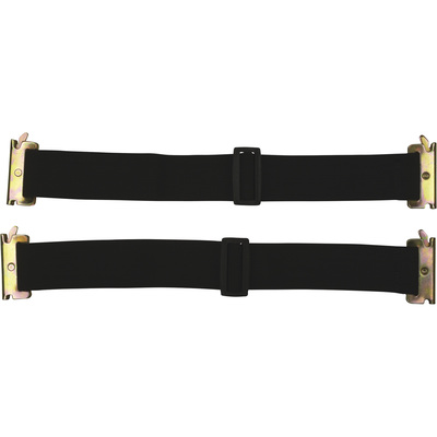 CargoSmart Adjustable Bungee Straps — 2-Pack, 22in.-32in.L, For E-Track and X-Track